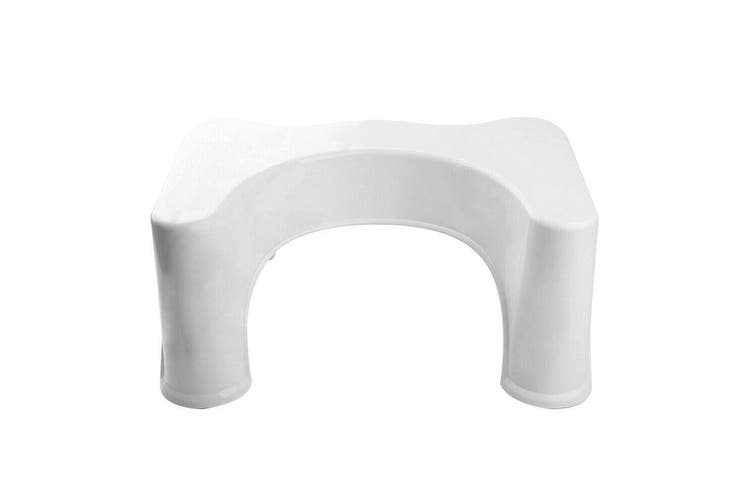 Toilet Step Stool Bathroom Potty Squat Aid for Constipation Relief