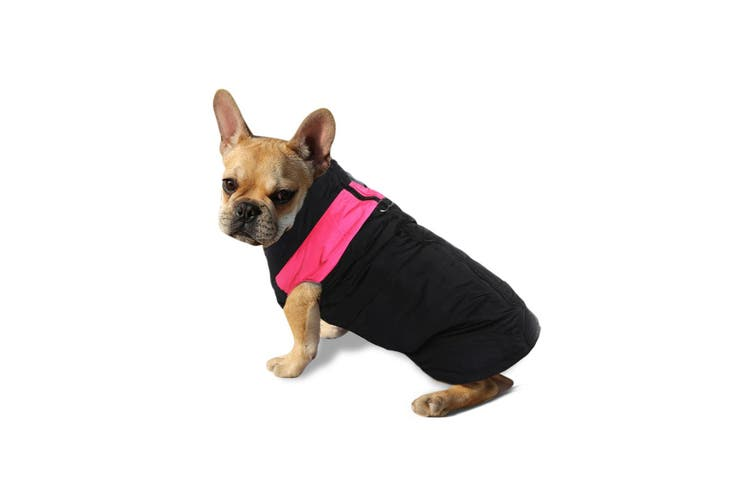 PaWz PaWz Dog Winter Jacket Padded Pet Clothes Windbreaker Vest Coat 2XL Pink