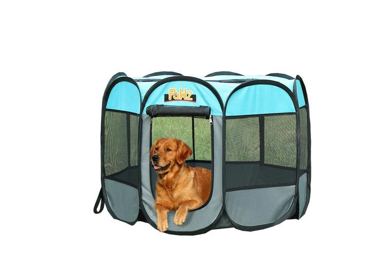 PaWz Dog Playpen Pet Play Pens Foldable Panel Tent Cage Portable Puppy Crate 48""
