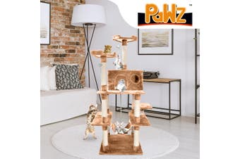 PaWz 1.83M Cat Scratching Post Tree Gym House Condo Furniture Scratcher Tower