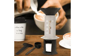 Expresso Coffee Maker Kit Presses with 350 Filters Coffee Presser Filter