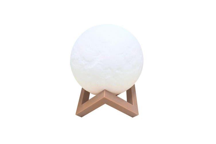 3D Magical Moon Lamp USB LED Night Light Moonlight Touch Sensor 18cm Diameter