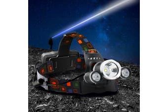 LED Outdoor Headlamp Head Light Head Torch Flashlight Camping Lamp
