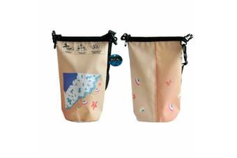 4L Dry Carry Bag Waterproof Beach Bag Storage Sack Pouch Boat Kayak Beige