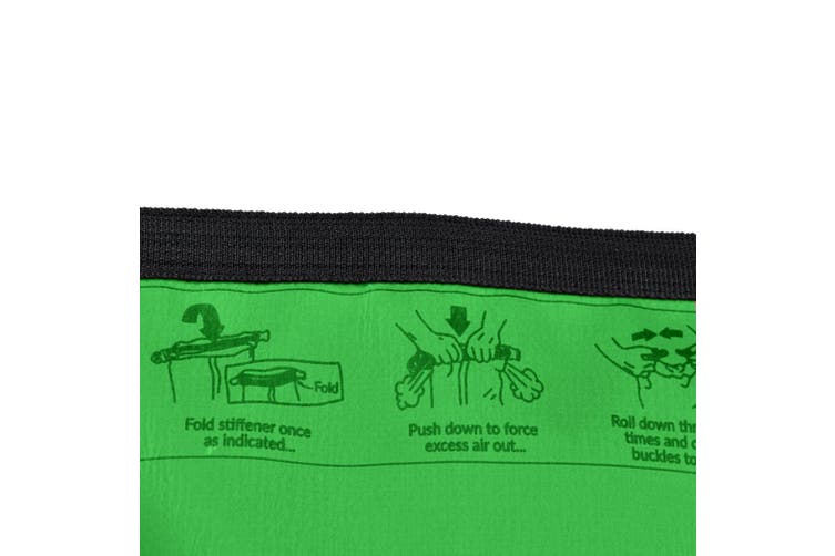 4L Dry Carry Bag Waterproof Beach Bag Storage Sack Pouch Boat Kayak Green