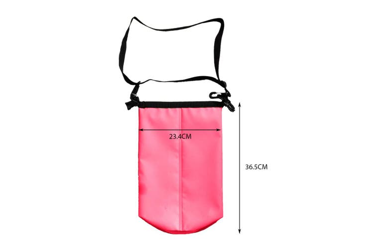 4L Dry Carry Bag Waterproof Beach Bag Storage Sack Pouch Boat Kayak Pink