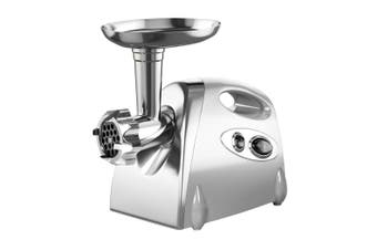 2800W Electric Meat Grinder Mincer Sausage Filler Kibbe Maker Kitchen Silver