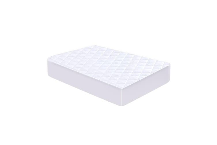 DreamZ Fully Fitted Waterproof Bamboo Fibre Mattress Protector in Double Size