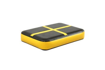 Centra 0.6X1M Air Track Block Inflatable Mat Airtrack Tumbling Gymnastics Yellow