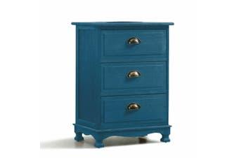 Levede Bedside Tables Chest of Drawers Table Storage Cabinet Dresser Vintage