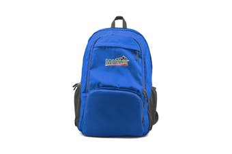 Mountview Foldable Backpack Lightweight Travel Camping Hiking Outdoor Waterproof Blue