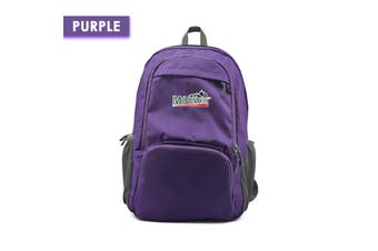 Mountview Foldable Backpack Lightweight Travel Camping Hiking Outdoor Waterproof Purple