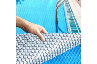 Solar Swimming Pool Cover 400 Micron Outdoor Bubble Blanket Heater Size 7 X 4M