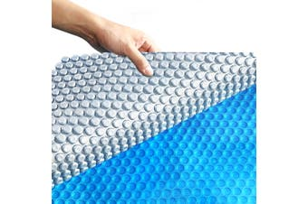 Solar Swimming Pool Cover 400 Micron Outdoor Bubble Blanket Heater 9.5 X 5M