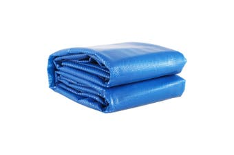 Solar Swimming Pool Cover 500 Micron Outdoor Bubble Blanket Heater Blue 9.5 X 5M