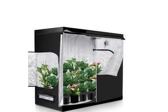 Garden Hydroponics Grow Room Tent Reflective Aluminum Oxford Cloth 240x120cm