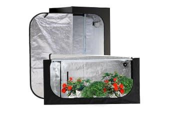 Garden Hydroponics Grow Room Tent Reflective Aluminum Oxford Cloth 75x75x130cm