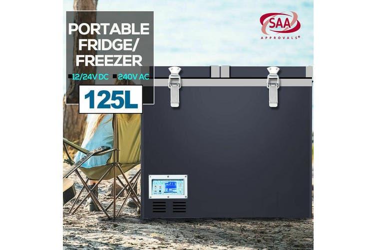 Spector 125L Portable Fridge Freezer Cooler Camping Car Freezers Refrigerator