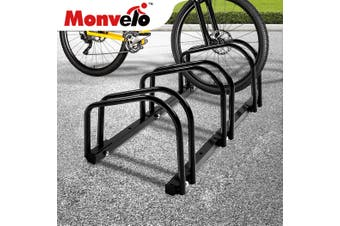 3 Bike Floor Parking Rack Bikes Stand Bicycle Instant Storage Cycling Portable