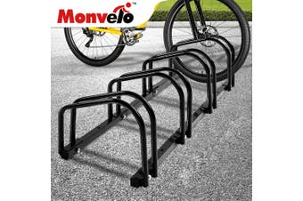 4x Bike Stand Bicycle Rack Storage Floor Parking Holder Cycling Portable Stands