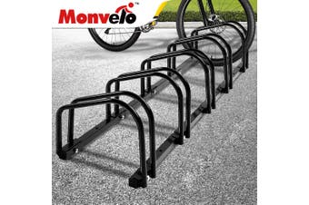 5 Bikes Stand Bicycle Bike Rack Floor Parking Instant Storage Cycling Portable