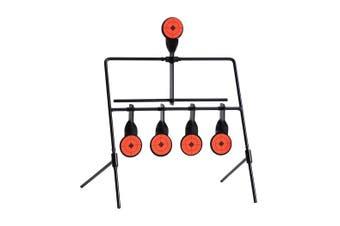 Shooting Targets Metal Splatter Archery Target Resetting Air Riffle Gun Game 5MM