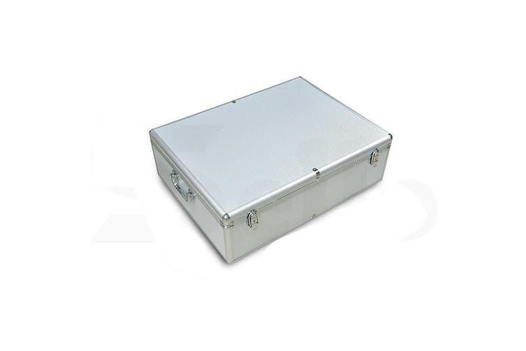 1000 Discs Aluminium CD DVD Cases Bluray Lock Storage Box Organizer Free Inserts