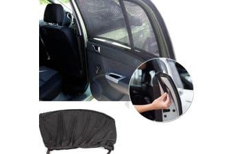2x Universal Car Sun Shades Side Window Curtain Sunshade UV Protection Visor
