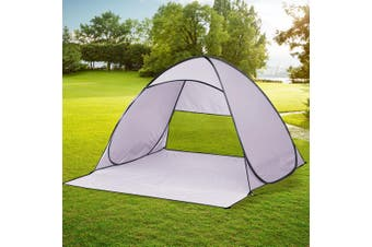 Mountview Pop Up Beach Tent Caming Portable Shelter Shade 4 Person Tents Fish