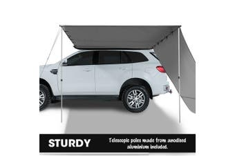 Mountview 2.5x3M Car Side Awning Extension Roof Rack Covers Tents Shades Camping