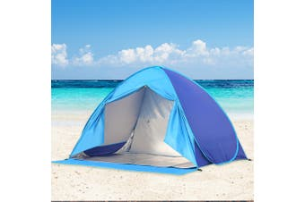 Mountview Pop Up Camping Tent Beach Tents 2-3 Person Hiking Portable Shelter