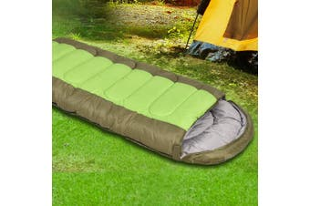 Mountview Sleeping Bag Outdoor Camping Single Bags Hiking Thermal -20℃ Winter
