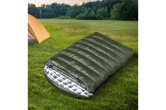 Mountview Sleeping Bag Double Bags Outdoor Camping Hiking Thermal -10℃ Tent