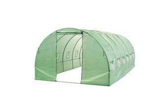 Walk In Greenhouse Garden Shed Tunnel Plant Storage Sheds Cover Green House 6x3M