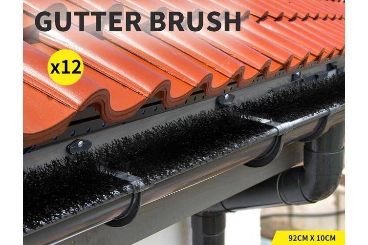 Gutter Brush Guard Leaf Heavy Duty Twigs Filter Garden 92x10cm Length Home X12
