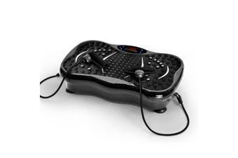 Centra Vibration Machine Machines Platform Plate Vibrator Exercise Fit Gym Home Charcoal