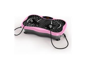 Centra Vibration Machine Machines Platform Plate Vibrator Exercise Fit Gym Home Pink