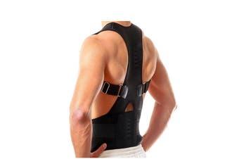 Adjustable Back Support Belt Brace Back Posture Corrector(1 Pack, Large)