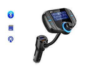 Bluetooth FM Transmitter Built-In Display MP3 Player