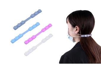 4Pcs Ear Saver Adjustable Straps Release Pain Ear Buckle Extension Hooks