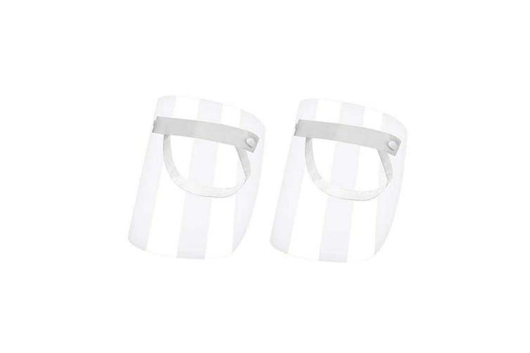 Full Face Splash Shield Mask Clear Protective Cover(2Pcs)