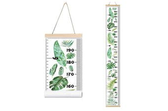 Growth Height Chart for Kids Boys Girls Baby Canvas Removable Hanging Wall Ruler Room Decor