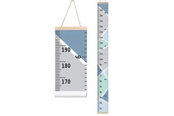 Growing Chart for Kids Boys Girls Baby Canvas Height Chart Removable Hanging Wall Ruler Room Decor