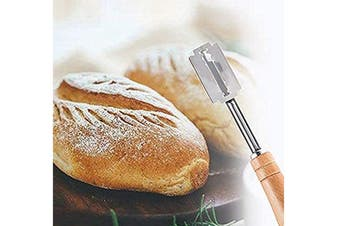 Stainless Steel Bread Lame Hand Crafted Bread Dough Slashing Tool