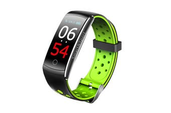Fitness Tracker Smart Watch Heart Rate Monitor Waterproof Bluetooth Watch Band For Android IOS Women Men Wristband(Green)
