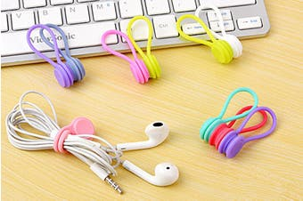 Cable Clips Magnetic Earphone Cord Holders(10 Pcs)
