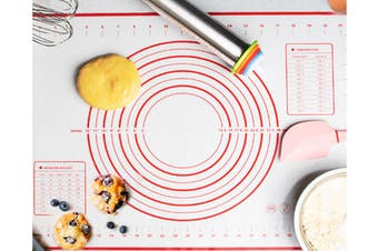 Non-Stick Silicone Baking Mats with Measurements