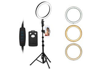 LED Ring Light with Tripod Stand for Makeup YouTube TikTok Video 6Inch
