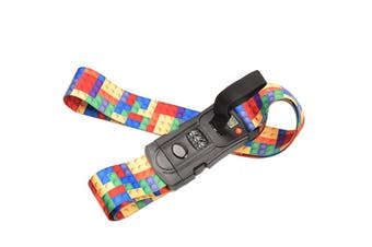 Luggage Suitcase Strap Secure Lock With Digital Scale Non-Slip Baggage Belt