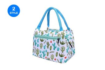 Insulated Lunch Bags Women Portable Food Storage Bag Handheld Lunch Container(2Packs)